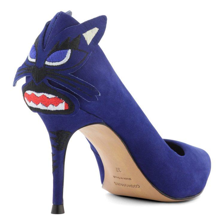 來自法國的Cosmoparis男女鞋登台,設計充滿趣味,售價9,580元。圖/玖...