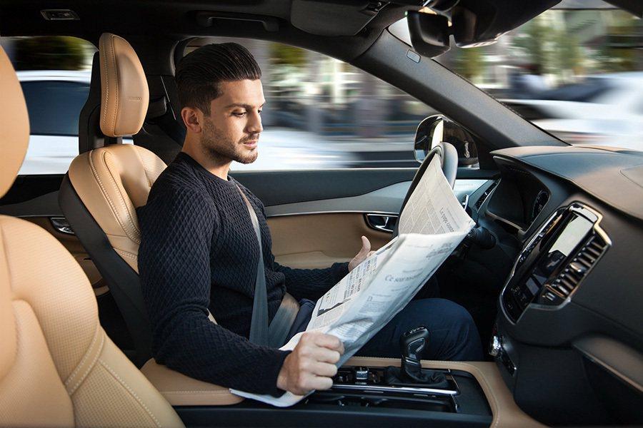 自動駕駛系統是Volvo汽車達成2020年零事故目標的關鍵。 Volvo提供