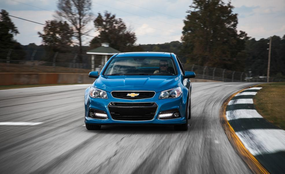 2015 Chevrolet SS。 圖/原廠提供