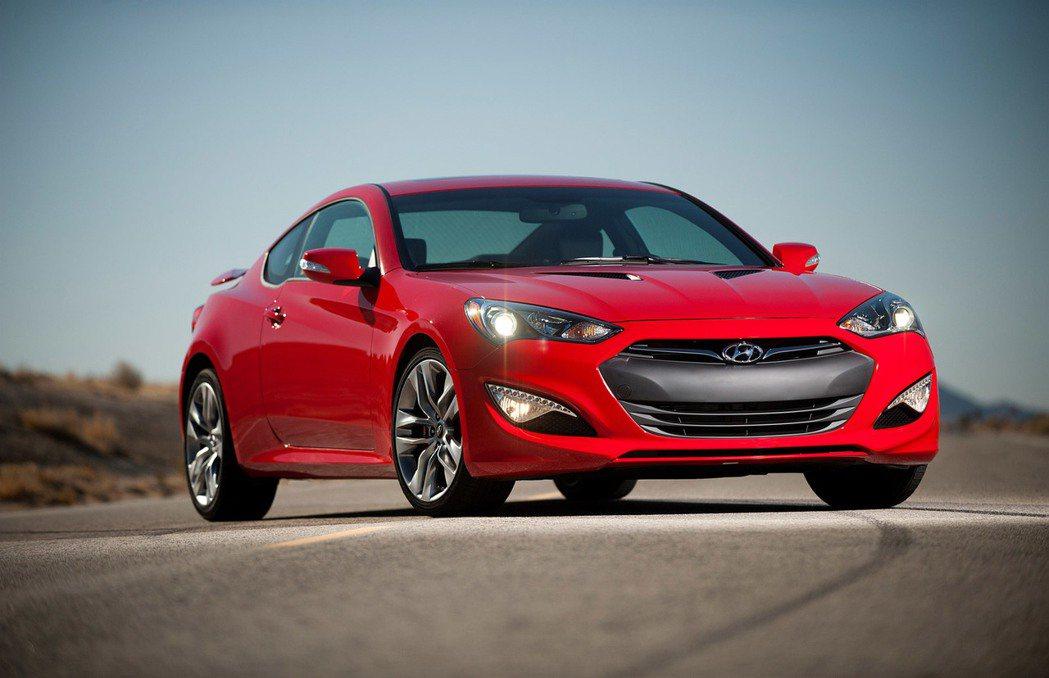 2015 Hyundai Genesis Coupe。 圖/原廠提供