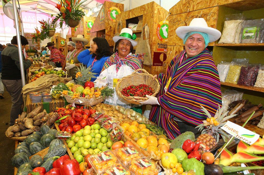 到Mistura參展的小農。 特派記者陳柏亨/秘魯攝影