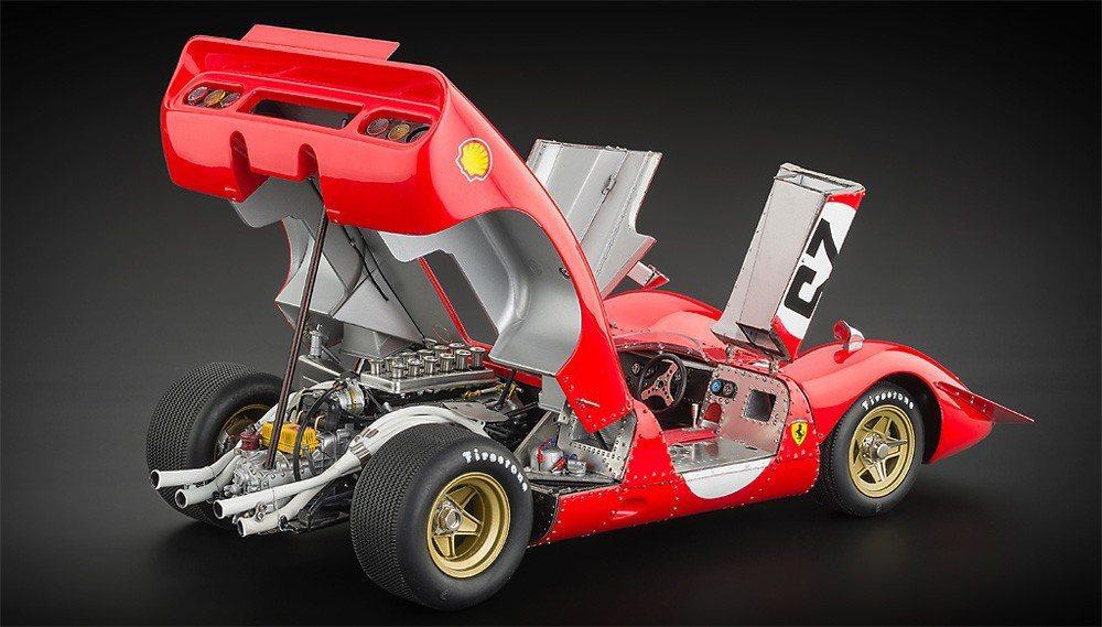 CMC共打造過7款法拉利作品,此款312P Spyder賽車即為其中一輛。 摘自...