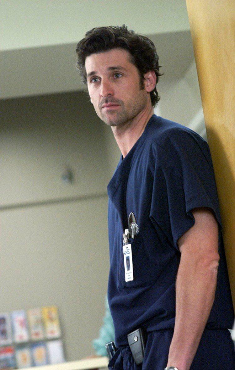 派翠克丹契演出《實習醫生》中的德瑞克醫生,讓人見到他的蛻變與熟成魅力。圖/Sta...