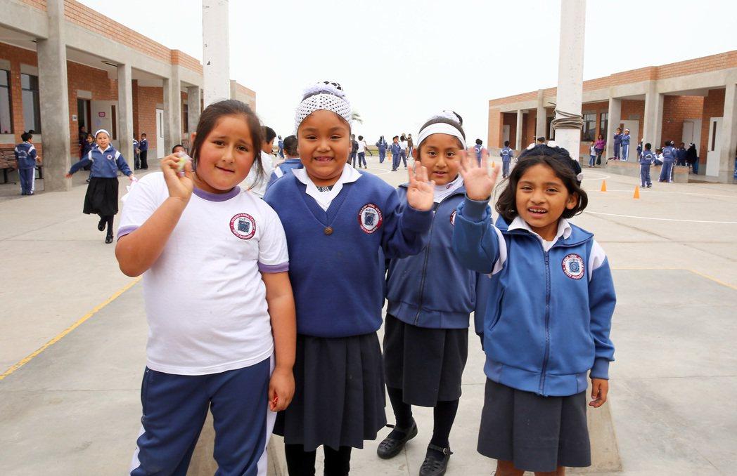 Pachacutec學校分為中、小學及廚藝學院。 特派記者陳柏亨/秘魯攝影