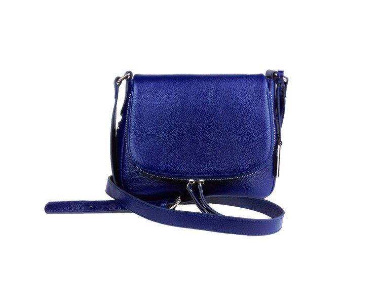 aBoutmi午夜藍都會假期雙拉鍊肩背隨身包,NT5,980。圖/aBoutmi...