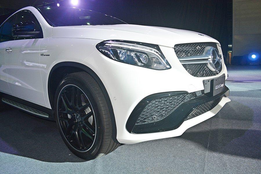 GLE 63 AMG Coupe內裝和外觀都融入AMG的元素與配件。  記者趙...