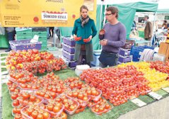 英國/馬里波恩農夫市集 「這裡賣的是態度」
