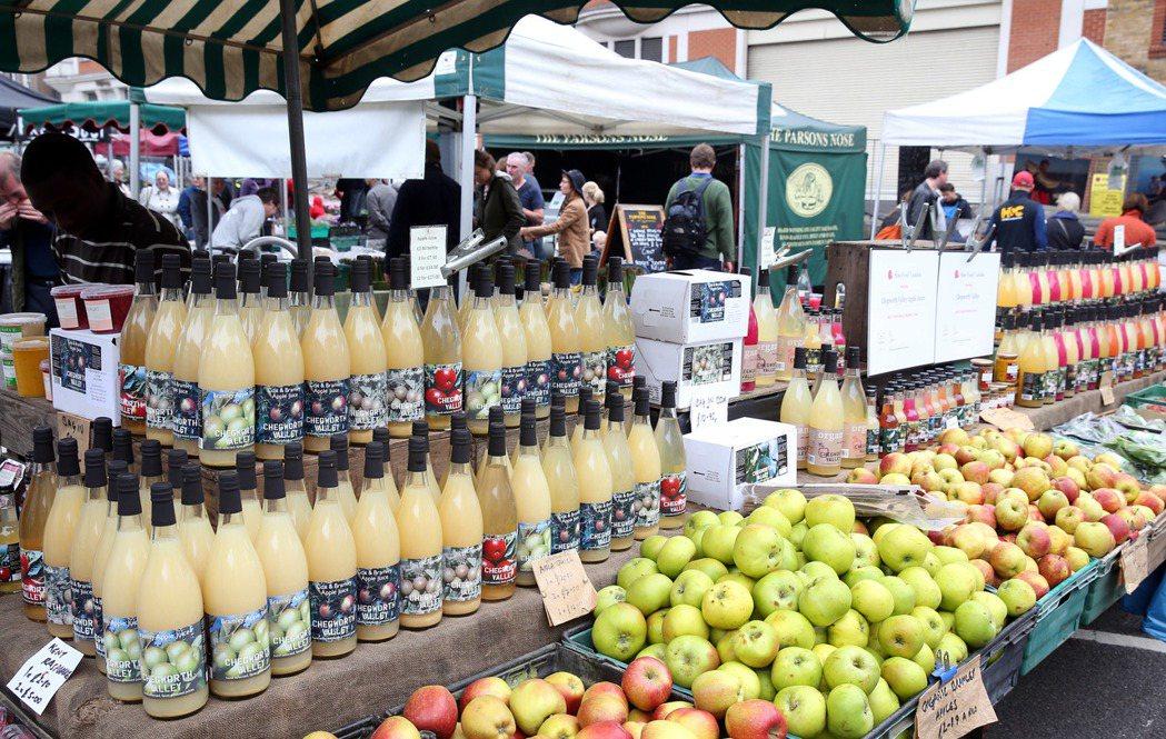倫敦Marylebone farmers market農夫立言集。 特派記者曾吉...