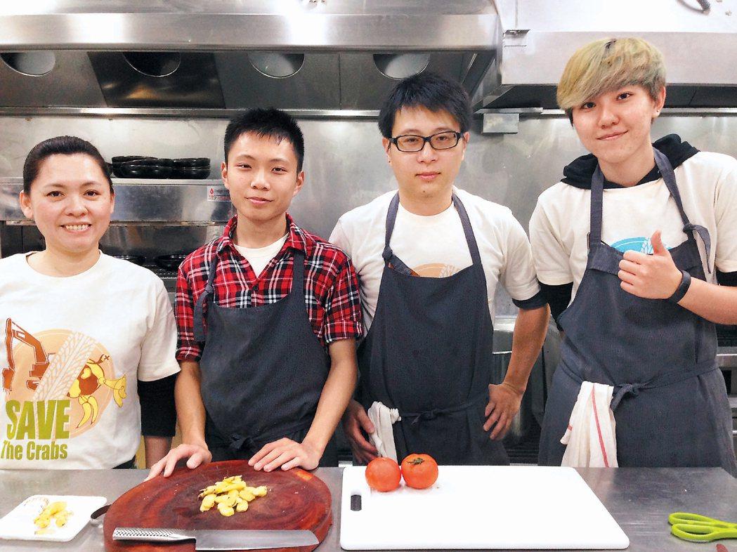 彩虹餐廳的廚師們是一群年輕人,他們不以精湛廚藝為目的,而用自然、手工的方式烹煮食...