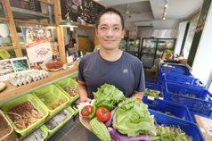 「我愛你學田」餐廳兼市集 小農種啥就煮啥