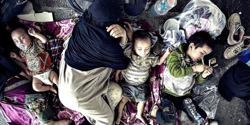 近兩年泰國與越南等國,都曾不顧聯合國難民署的抗議、強制遣返維族難民回中國。 圖/...
