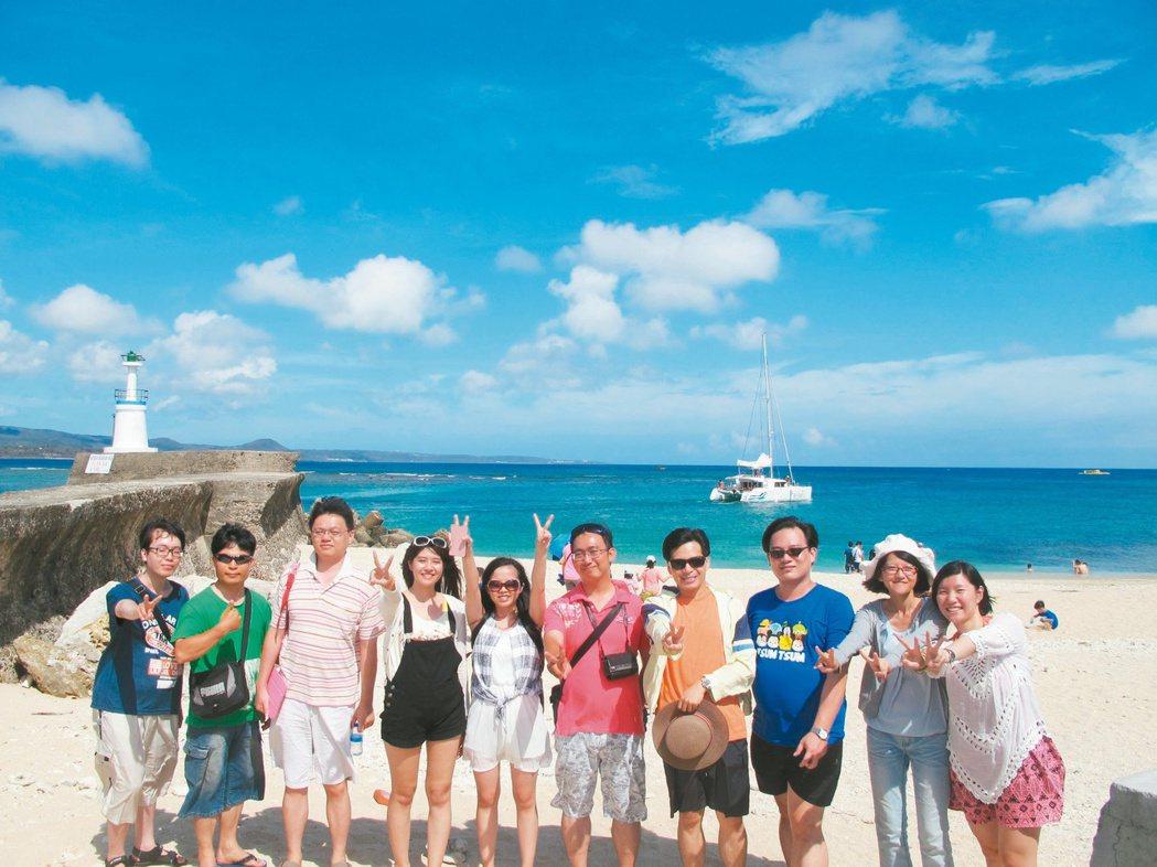 謝家兄弟和好友合資在彰化市創業,舉辦公司旅遊留住員工的心,並提振工作士氣。 圖/...