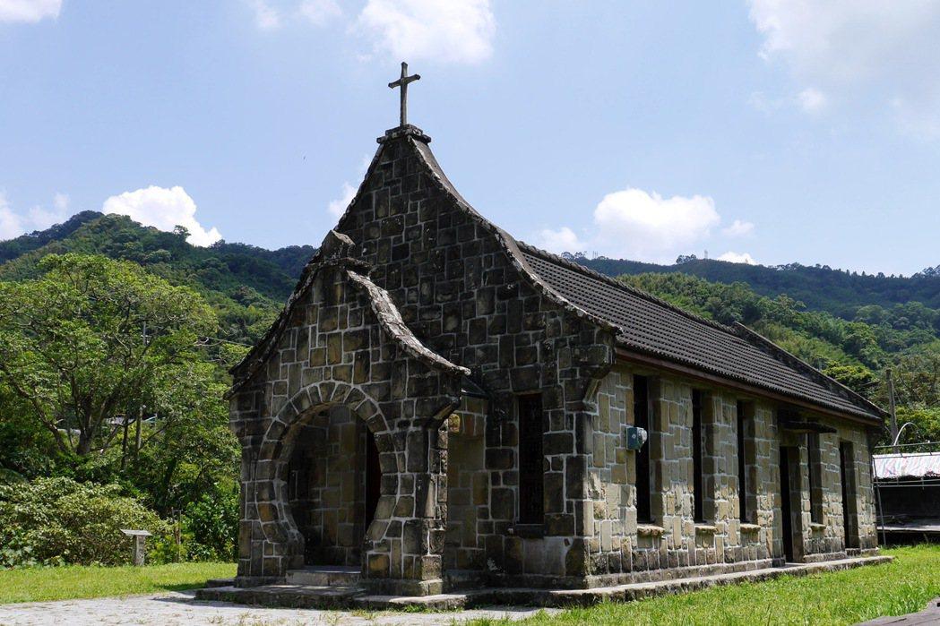 基國派老教堂擁有超過五十年的歷史。 記者陳威任/攝影
