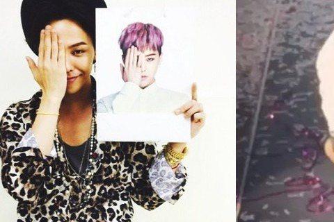南韓天團BIGBANG出道10年,今年在世界各地巡迴演唱,9月底剛結束4場台灣演唱會的他們,日前飛到澳洲雪梨舉辦演唱會時,除獻上精彩表演外,人氣最高的隊長G-Dragon還被粉絲拍到漏網鏡頭。影片中...