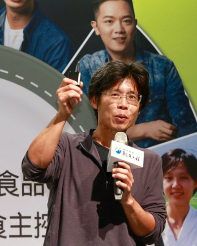 王福裕(大王菜舖子創辦人)。  記者黃義書/攝影