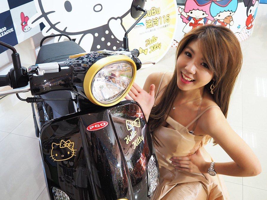 Hello Kitty J-Bubu擁有復古造型頭燈。