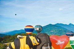 台東創意觀光 熱氣球、鐵道村活絡經濟
