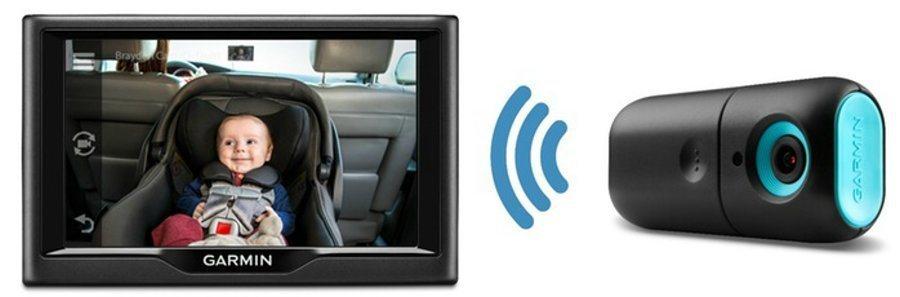 BabyCam使用兩顆AA電池或電源供應器進行供電,並內建無線裝置進行畫面傳輸。 摘自Garmin.com