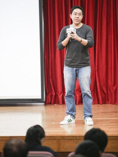 聯合報昨天在南華大學舉辦2015願景工程-為青年尋路論壇,邀請livehouse...