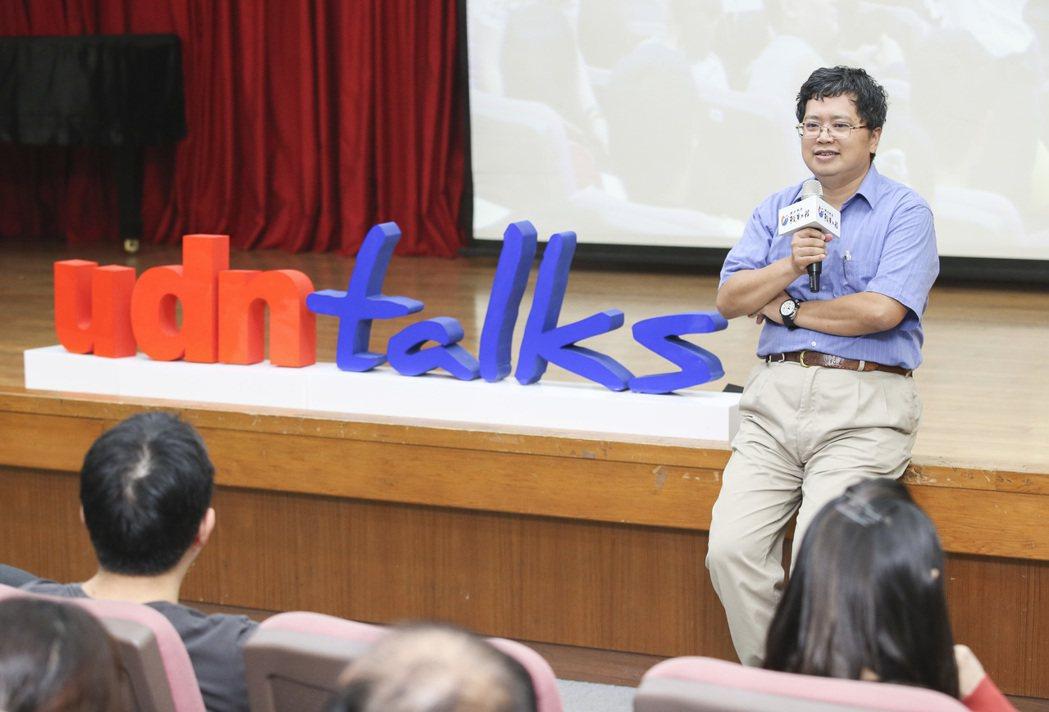 聯合報昨天在南華大學舉辦2015願景工程-為青年尋路論壇,邀請光原社會企業共同創...