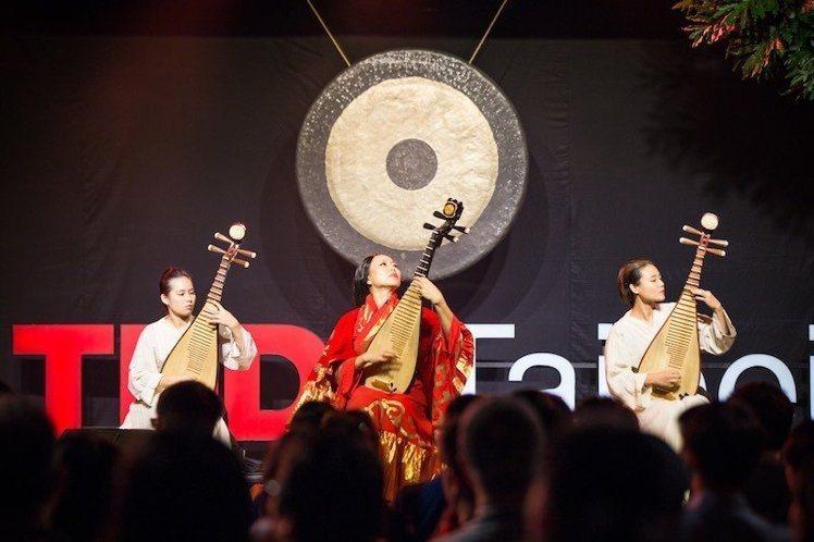 開場表演。圖片提供:TEDxTaipei /攝影 Jenny Wu