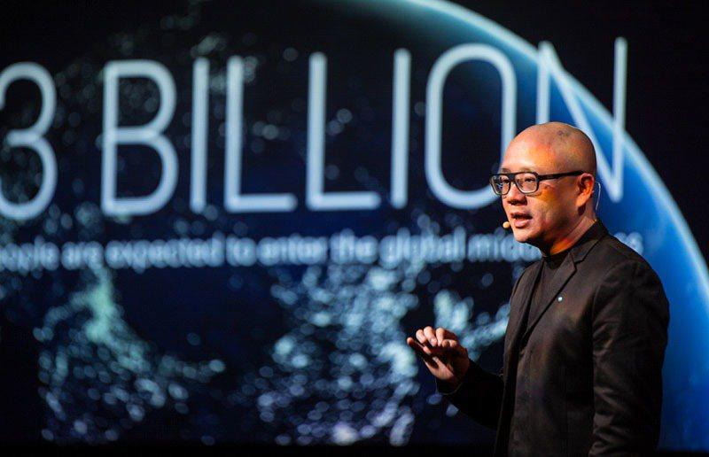 創業家陸學森說,創新不只是創造一項產品,而是打造一個生態系。圖片提供:TEDxT...