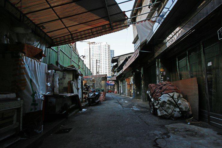 紅燈區彌阿里一隅。 圖/取自 http://cafe.naver.com