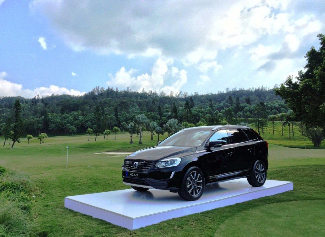 國際富豪汽車贊助休旅車 XC60 D4 旗艦版一部作為本屆 LPGA「一桿進洞」...