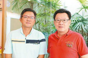 王崑宗(右)及婁家怡建築師理念相近共同創業,成立傳寶建設。 攝影/張世雅 圖片...
