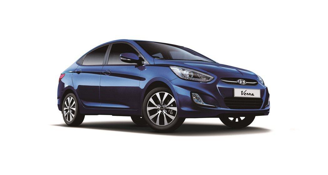 Hyundai Verna是全球重要戰略車款,以流體雕塑(Fluidic scu...