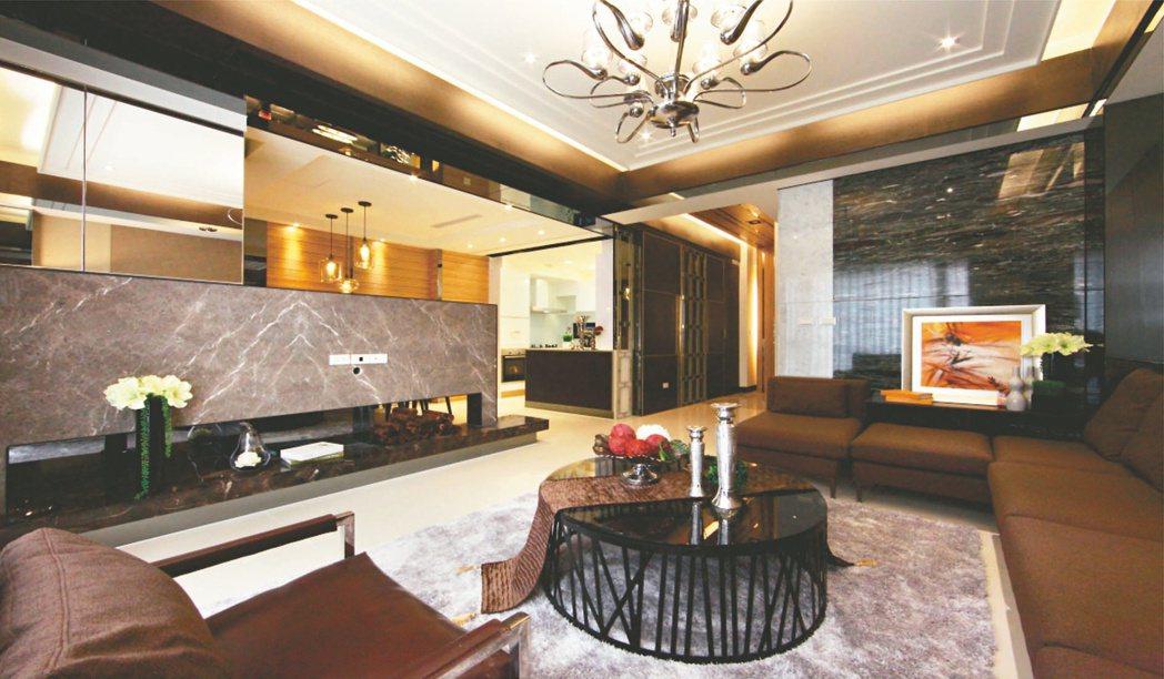 「大謙璞真」是5樓透天別墅,社區型別墅擁有5套房設計,頂樓還有露天風呂及SPA按...