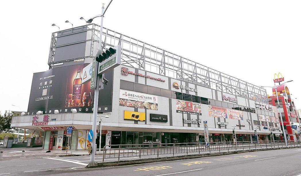 馨馥華附近商圈機能完善、交通便捷。 記者程宜華/攝影