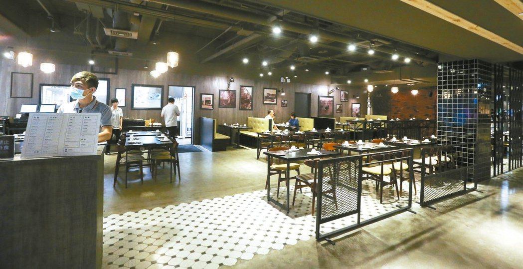 MLD影城悅品飯店的港式飲茶,各式點心值得品嘗。 記者程宜華/攝影
