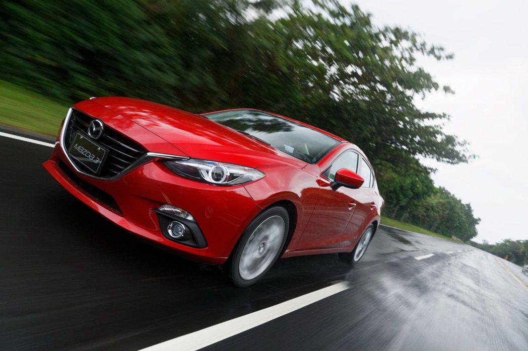 Mazda3挾著優異的產品實力、日本進口原裝的身份,在台交出相當亮眼的銷售成績單。 圖/Honda Taiwan提供