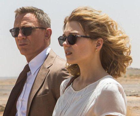 Craig和女主角同行,兩人也都是戴著同品牌Persol太陽眼鏡。