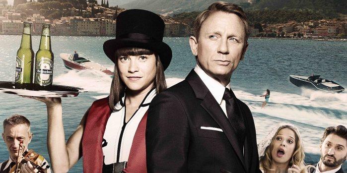 海尼根長期以來一直是007的主要贊助商,Spectre片中不斷出現海尼根Hein...
