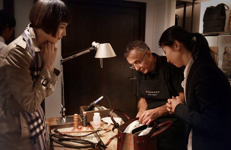 Burberry在亞洲市場相當受歡迎,但受中國經濟衰退影響,第三季小幅成長。圖/...