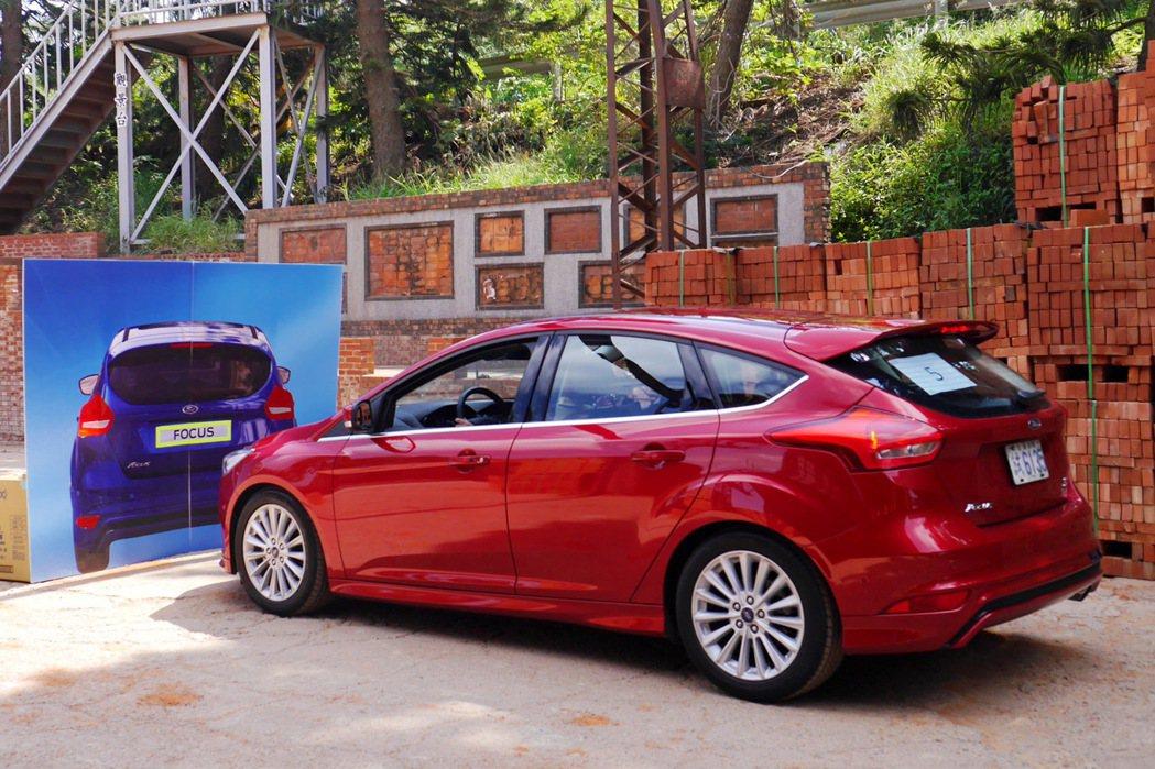 自動煞車系統已經有部分國產車款開始搭載。 記者陳威任/攝影