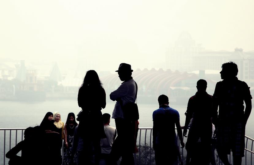 讓泰國、馬來西亞、印尼與新加坡等國均深受其害的「霧霾」。 圖/美聯社