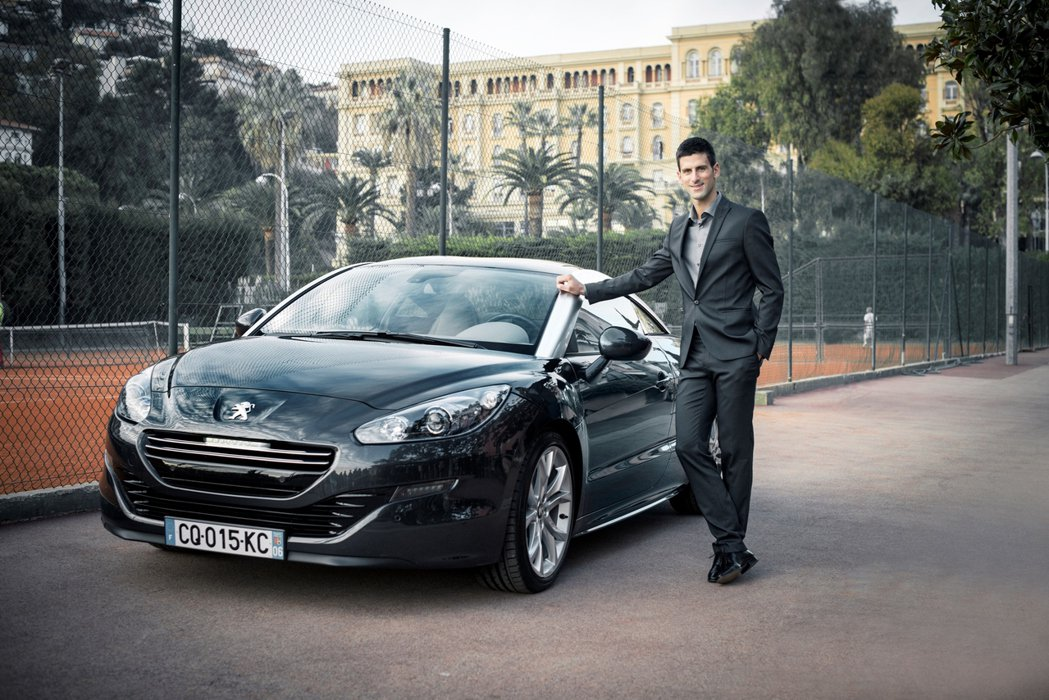 Peugeot從2014年起即邀請Novak Djokovic擔任全球品牌形象大...