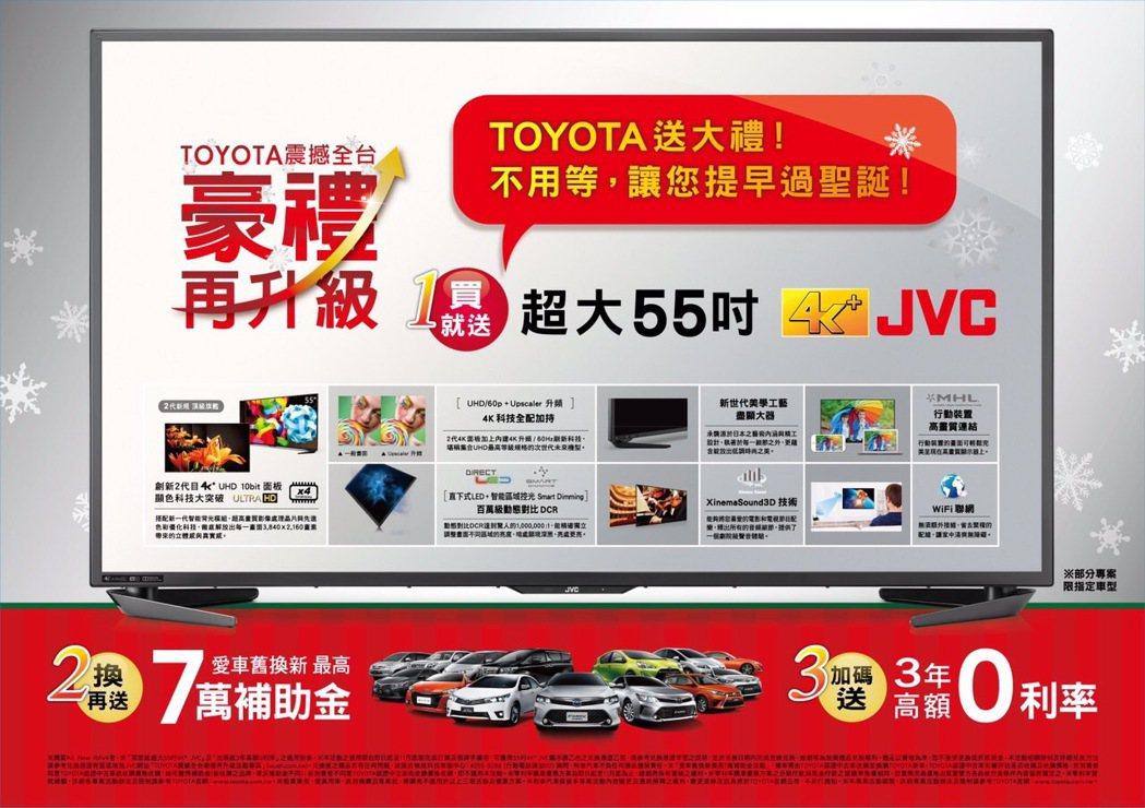 Toyota總代理和泰汽車,11月加碼推出「TOYOTA 震撼全台 豪禮再升級」...