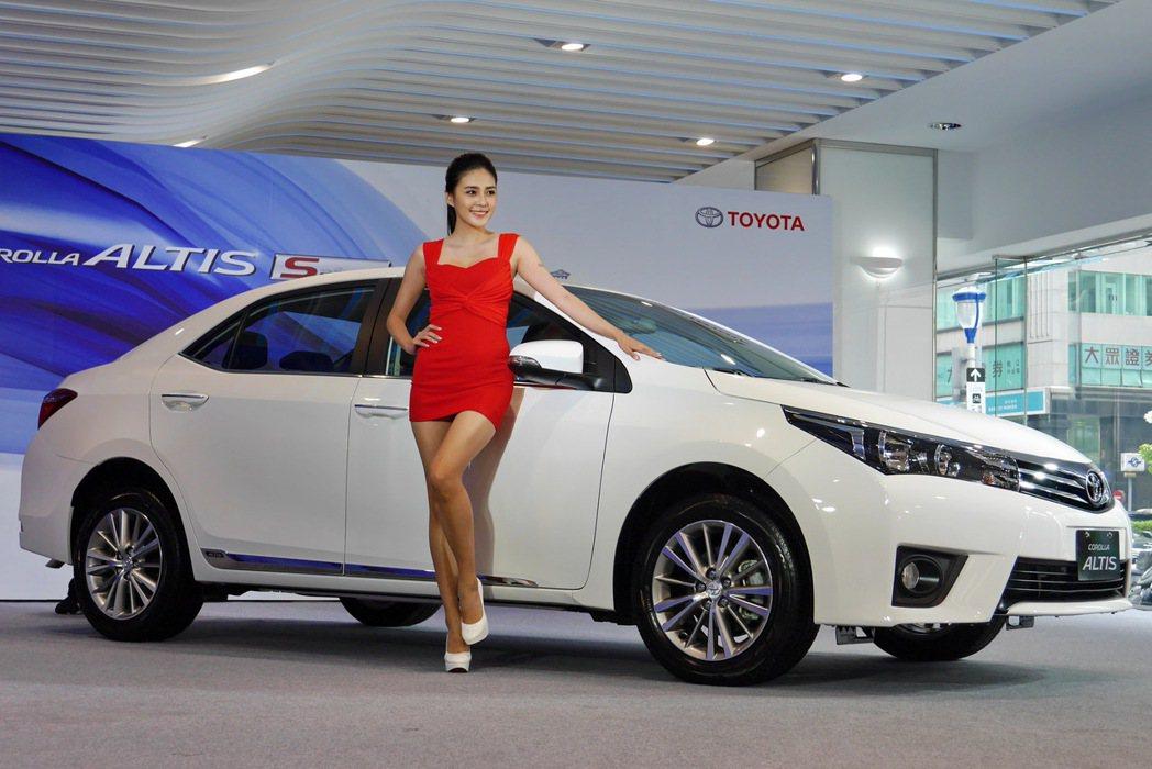 Toyota總代理和泰汽車針對舊換新商機動作頻頻。 記者陳威任/攝影