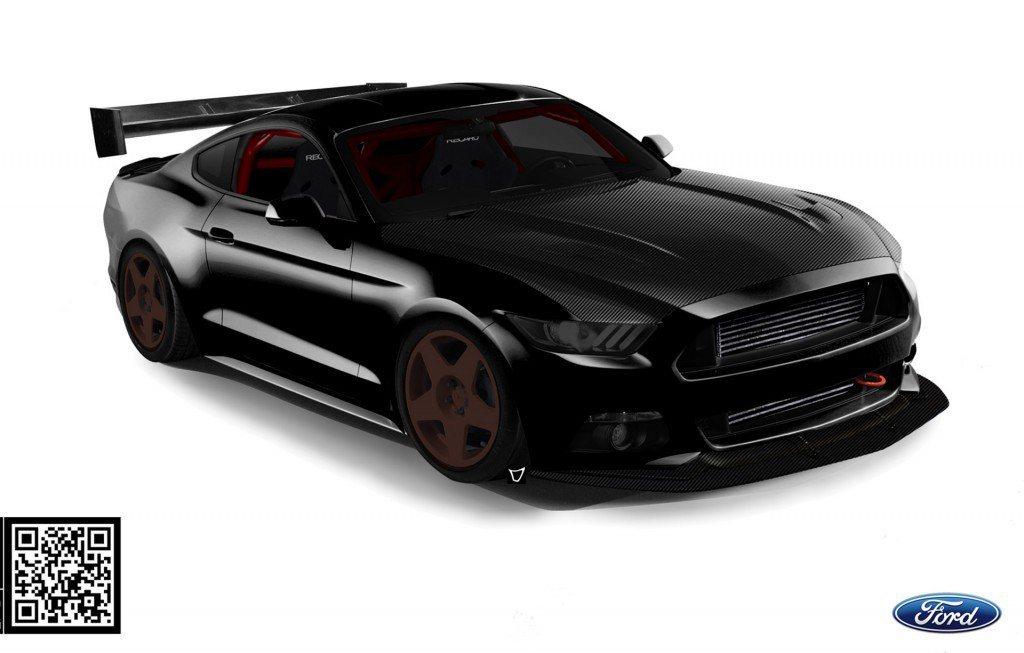擁有900匹馬力的Bisimoto Ford Mustang EcoBoost,...