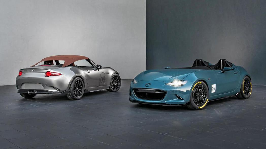 Mazda MX-5 Spyder/Speedster。 圖/Mazda提供