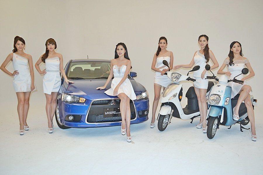 中華三菱11月4日公布2016台北車展將展出的重點作品,另請來並新生代車組成美麗...