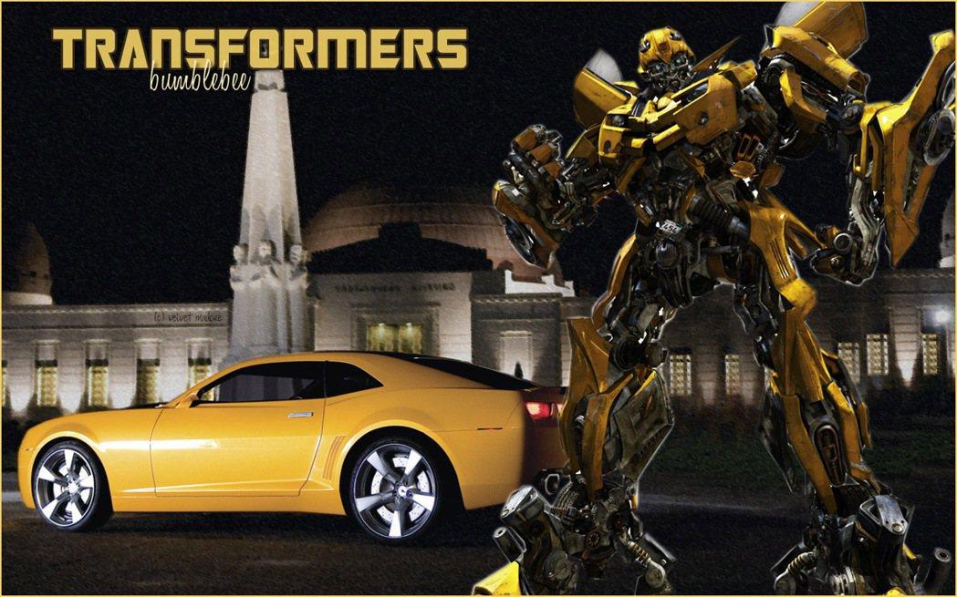 「變形金剛」同時結合車子與機器人這兩項男人的最愛。 圖/取自網路