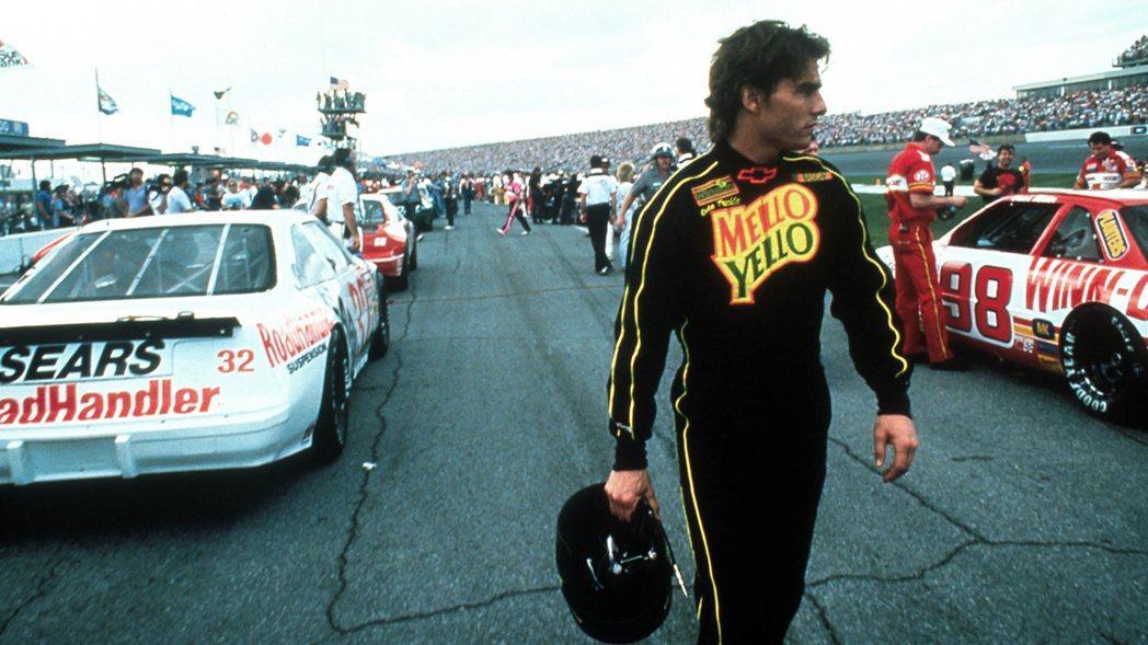「霹靂男兒」背景是以Nascar大賽車在環形高速賽道的激烈競爭為主題。  圖/...