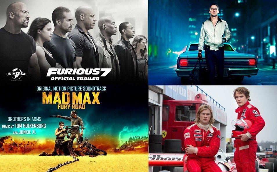 汽車結合電影總讓人熱血十足,盤點經典車電影。 記者陳威任/重製