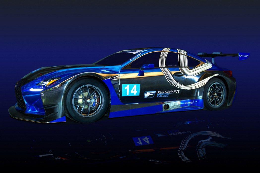 Lexus以RC F為原型打造出符合國際FIA認證的GT3等級車款RC F GT...