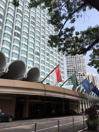 馬習會七日將在新加坡香格里拉大酒店舉行。 特派記者林以君/ 攝影